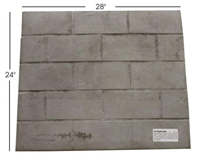 Fireplace Systems Outdoor Masonry Brick Fireplaces Convert Refractory Panels To Firebrick